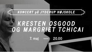 Interview og koncert på Jyderup Højskole med  Kresten Osgood og Margriet Tchicai