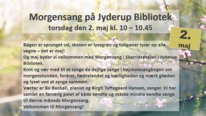 Morgensang i Jyderup Bibliotek @ Jyderup Bibliotek | Jyderup | Danmark