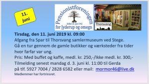 Tur til Thorsvang Samlermuseum @ Thorsvang Samlermuseum | Stege | Danmark