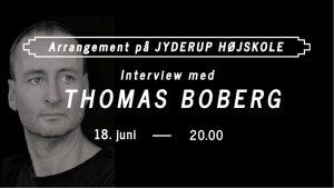 Interview med Thomas Boberg om Afrika @ Jyderup Højskole | Jyderup | Danmark