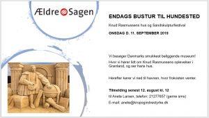 ENDAGS BUSTUR TIL HUNDESTED @ Hundsted