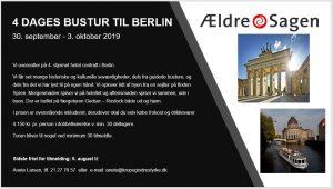 4 DAGES BUSTUR TIL BERLIN @ Berlin
