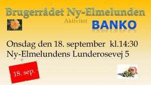 BANKO! @ Brugerrådet Ny-Elmelunden | Jyderup | Danmark
