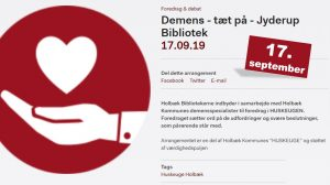 Demens - tæt på - foredrag om demens @ Skarridsøsalen | Jyderup | Danmark