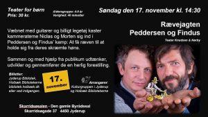 Teater for børn - Rævejagten – Peddersen og Findus