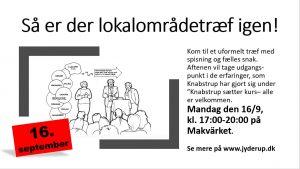 Lokalområdetræf @ Makvärket | Regstrup | Danmark