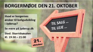 Borgermøde om boligudbygning i Jyderup @ Skarridsøsalen