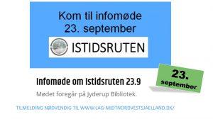 Kom til infomøde om Istidsruten @ Jyderup Bibliotek | Jyderup | Danmark