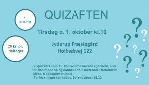 Quizaften i Jyderup Præstegård - ny sæson @ Jyderup Præstegård | Jyderup | Danmark