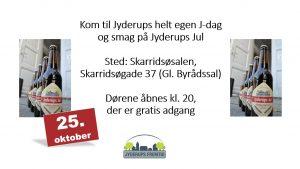 Jyderups J-dag - kom og smag @ Skarridsøsalen | Jyderup | Danmark