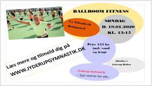 Jyderup Gymnastik afholder Ballroom Fitness Event @ Jyderup Hallen | Jyderup | Danmark