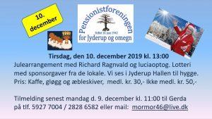 Julearrangement med Richard Ragnvald og Luciaoptog @ Jyderup Hallen | Jyderup | Danmark