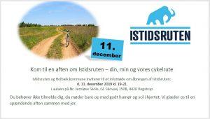 Kom til en aften om Istidsruten – din, min og vores cykelrute @ Nr. Jernløse Skole | Regstrup | Danmark
