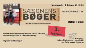 Sæsonens bøger 2020 @ Jyderup Bibliotek | Jyderup | Danmark