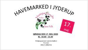 AFLYST - Havemarked i Jyderup - AFLYST PGA. CORONA @ Pladsen v/Jyderup Svømmehal | Jyderup | Danmark