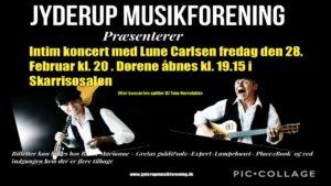 Koncert med Lune Carlsen @ Skarridsøsalen | Jyderup | Danmark