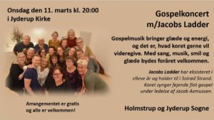 Gospelkoncert m/Jacobs Ladder @ Jyderup Kirke