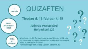 Quizaften @ Jyderup Præstegård | Jyderup | Danmark