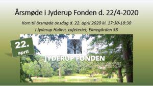 Årsmøde i Jyderup Fonden @ Jyderup Hallen, Cafeteriet   Jyderup   Danmark
