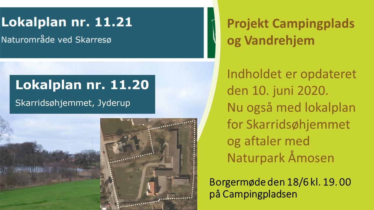 Opdater campingplads og Vandrehjem