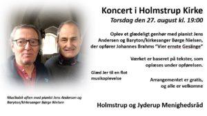 Koncert i Holmstrup Kirke @ Holmstrup Kirke
