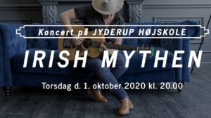 Koncert med folk og sangskriver Irish Mythen @ Jyderup Højskole | Jyderup | Danmark