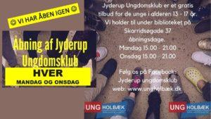 Jyderup Ungdomsklub @ Jyderup Ungdomsklub | Jyderup | Danmark