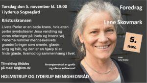 """Foredrag med Lene Skovmark """"Kristuskransen"""" @ Jyderup Sognegård"""