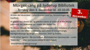 Morgensang på Jyderup Bibliotek @ Jyderup Bibliotek | Jyderup | Danmark