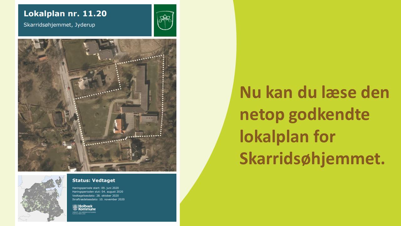 Opdater lokalplan 11.20