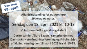 Affaldsindsamling for et skønnere Jyderup og natur @ Biblioteket | Jyderup | Danmark
