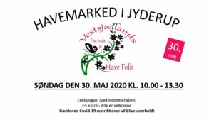 Blomstermarked i Jyderup @ Ellebjergvej (ved svømmehallen)   Jyderup   Danmark