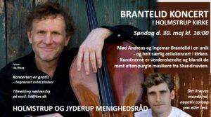 BRANTELID KONCERT I HOLMSTRUP KIRKE @ Holmstrup Kirke