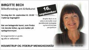 BIRGITTE BECH - Billedforedrag om kirkekunst @ Jyderup Sognegård