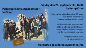 Pedersborg kirkes ungdomskor @ Jyderup kirke | Jyderup | Danmark